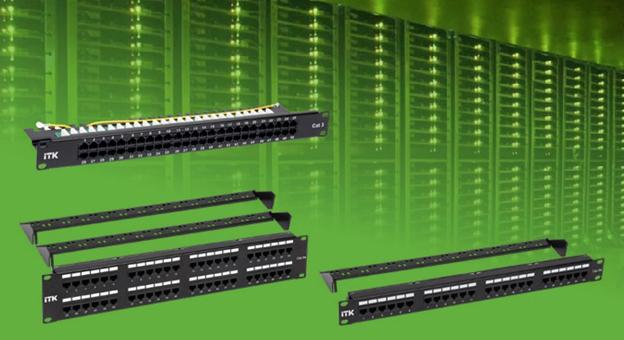 Патч-панели ITK® – высокое качество и стабильная передача данных
